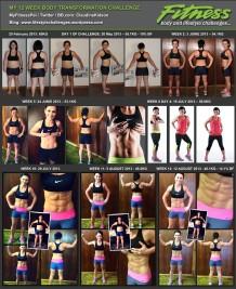 Progress 12 Weeks: Body Transformation Challenge Round 2 Post Pregnancy